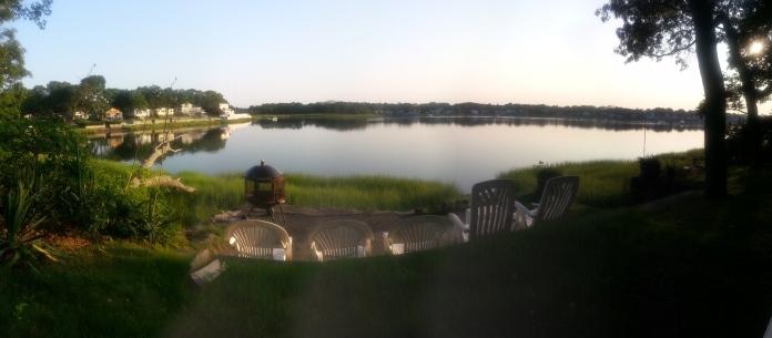 Cottage Backyard Panorama