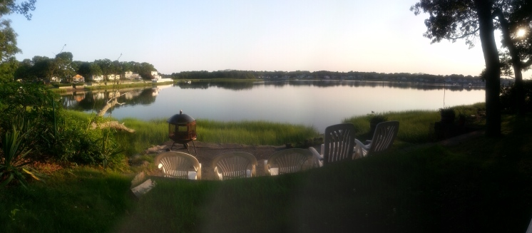 Cottage Backyard Panorama