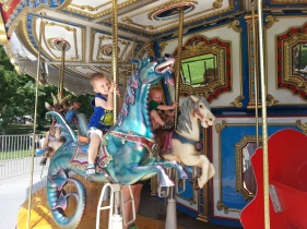 Carousel in Boston Common