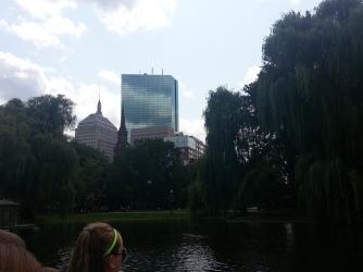 View From Boston Public Garden