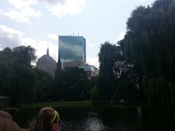 View From Boston Public Garden