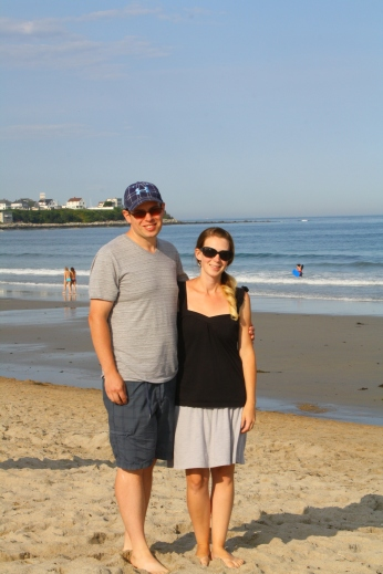 Jen and I at Hampton Beach
