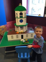 Lego Clock Tower