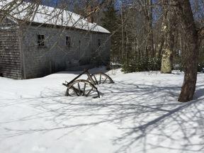 Snowy wheels