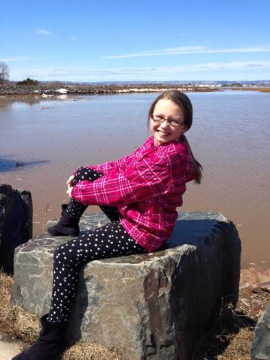 Caile on the Wolfville waterfront