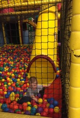 Noah in the ball room