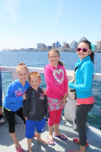 Ferry ride across Halifax Harbour
