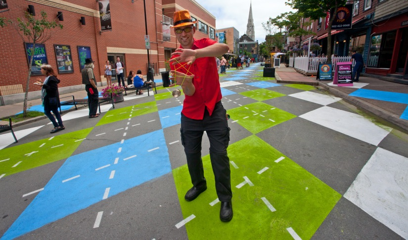 'That's cool:' Argyle Street launches weekend closures with Halifax block party
