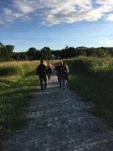 Walk in Miners Marsh
