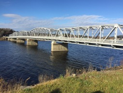 Bridge across Saint John river in Perth-Andover New Brunswick