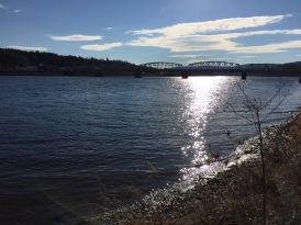 Perth-Andover bridge across the Saint John River