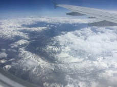 Mountains from the air