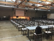 Hawthorne setup for the conference