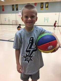 New Basketball and Shirt