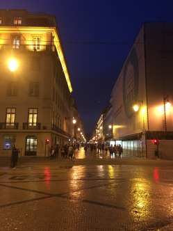 Street at night