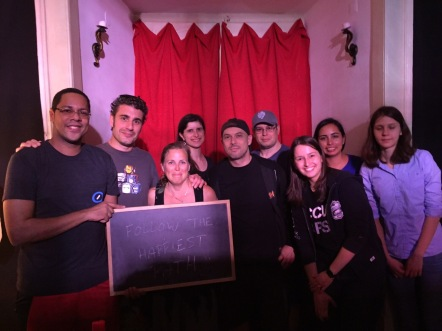 Our team set a record for this escape the room!