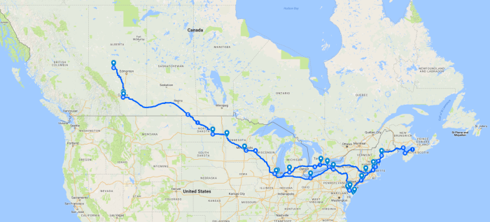 Epic Road Trip2017