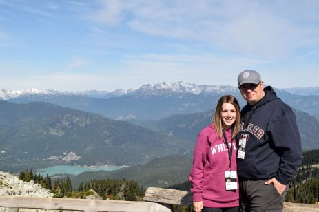 Jen and I in the Whistler Mountains