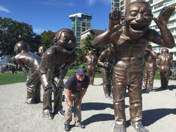 May this sculpture inspire laughter playfulness and joy in all who experience it.