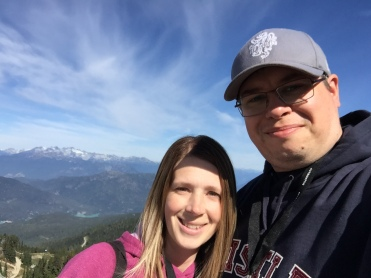 Mountain Selfie with Jen