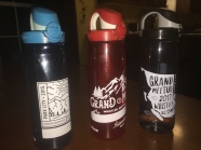 Three years of Grand Meetups in Water bottles