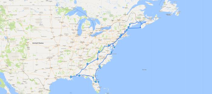 Epic Road Trip2018