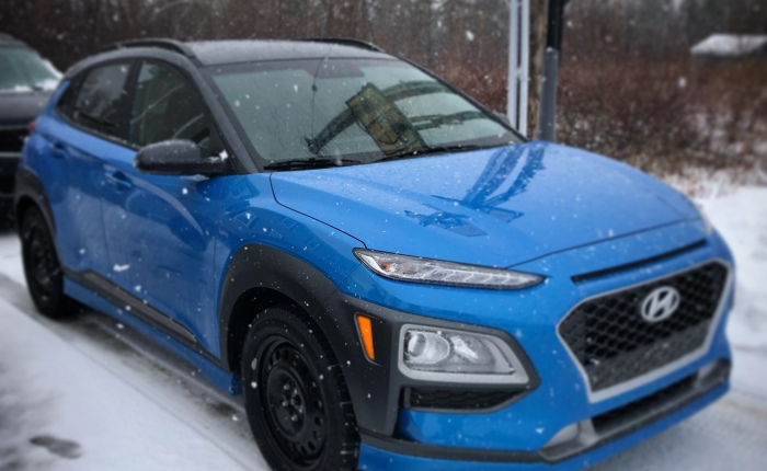 New Car – Hyundai Kona